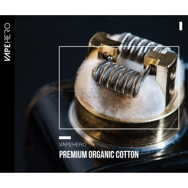 Vapehero Cotton Threads - Selbstwickler Watte