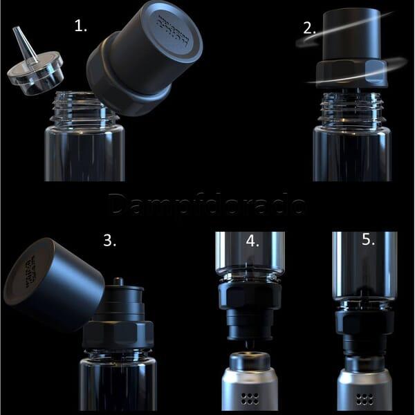 Wotofo Easy Fill Drip Cap - RDA/RDTA Nachfüllaufsatz