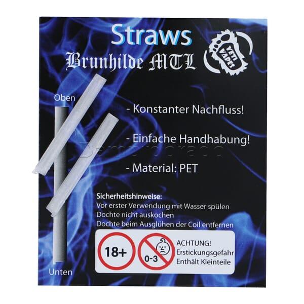 Yeti Vapes Straws - Vapefly Brunhilde MTL RTA